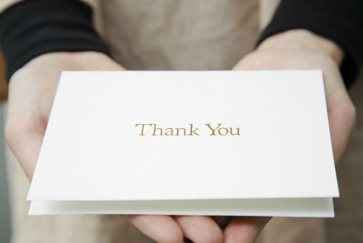 Best Ways to Say Thank You for Job References and Recommendations - Thank You Letters For References And Recommendations