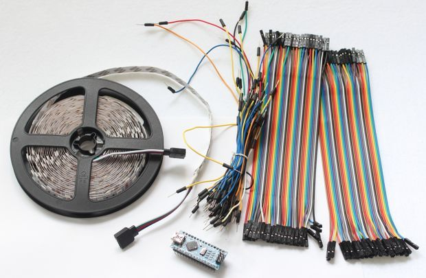 Arduino Led Scroll Car Kit