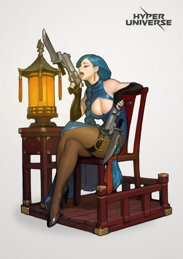 Cyberdelics : ...@K200采集到⊙女性角色(1587图)_花瓣游戏