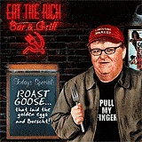 Michael Moore Eat the Rich funny political cartoon