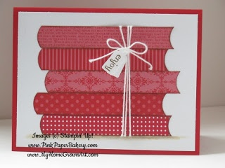 Pink Paper Bakery: Perfect For A Reader! Strips of paper + circle punch = a stack of books.