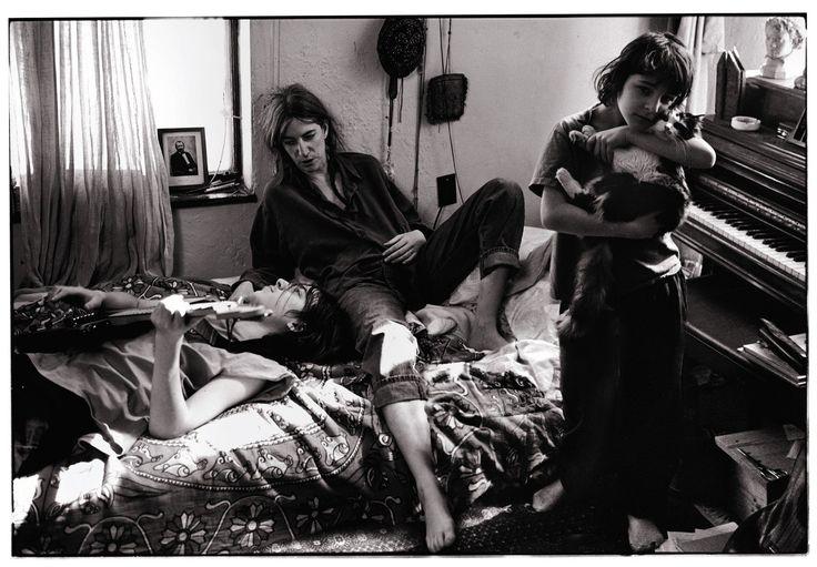 Патти Смит с детьми фото: Энни Лейбовиц