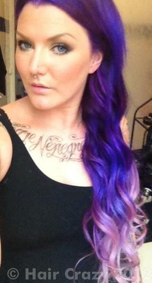 AimeeBlondie -   - Electric Amethyst   - Plum   - Ultra Violet   - Violet