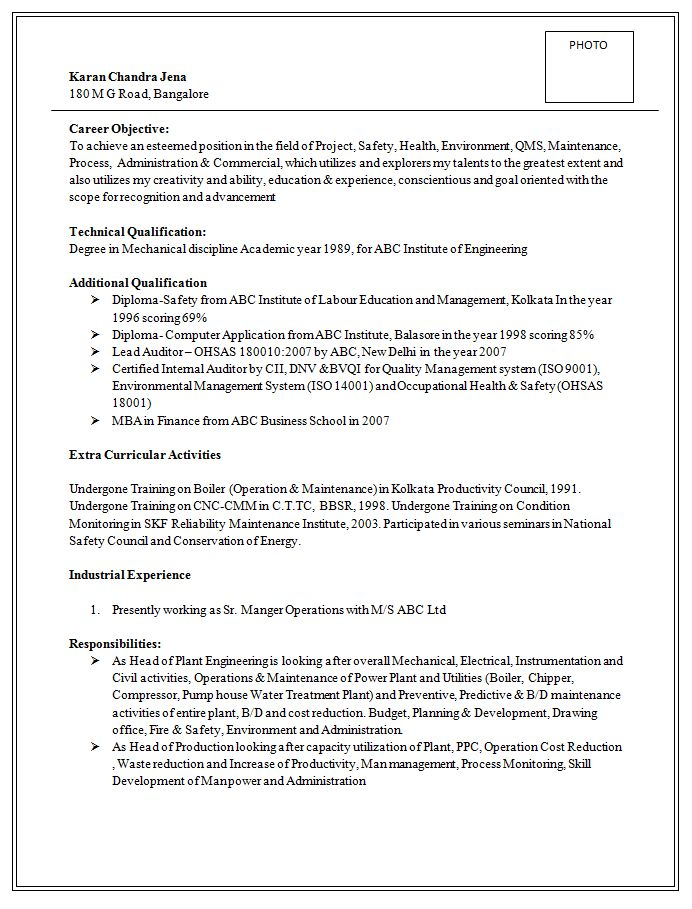 Excellent and Professional Assistant Manager Resume Sample
