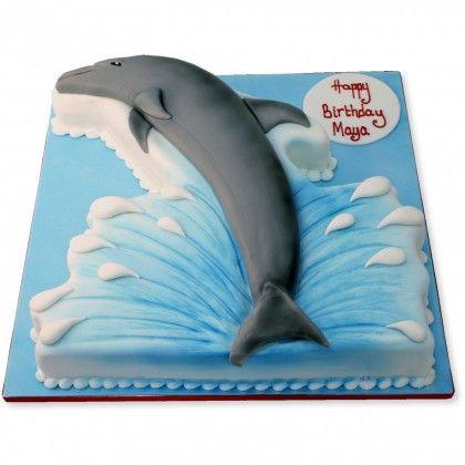 Dolphin Cake – Kimberly Dockery