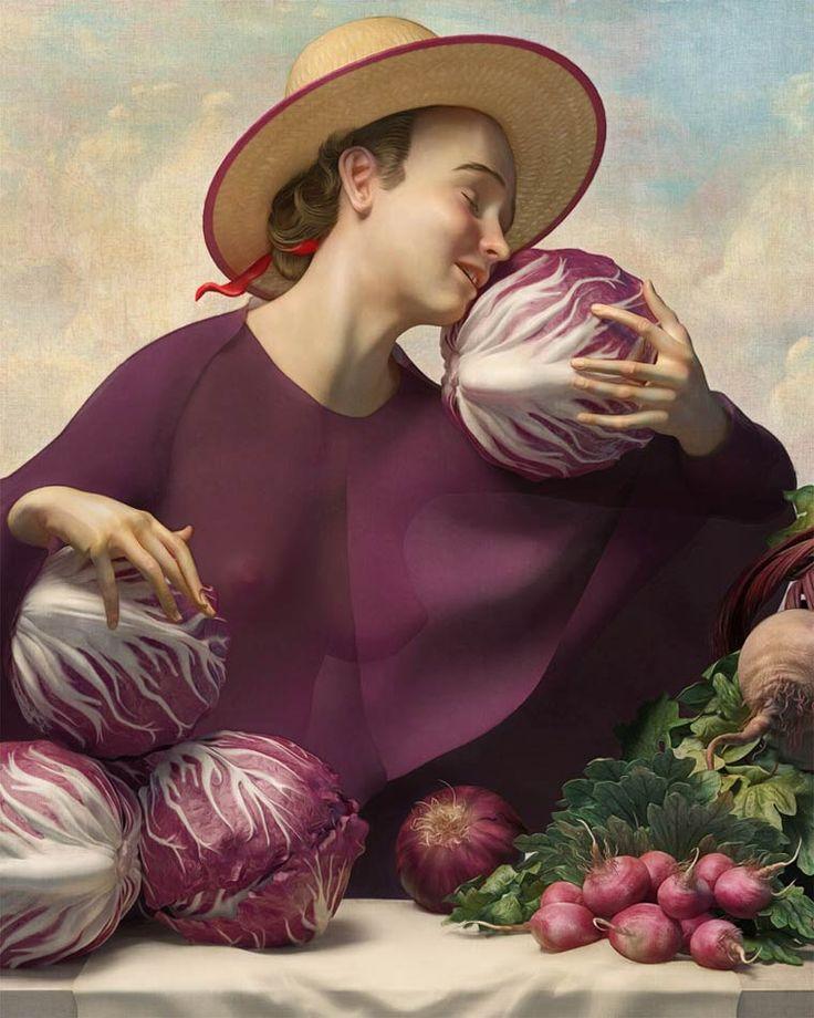 Whimsical Precision: Digital Paintings by Rafael Ochoa - Artists Inspire Artists