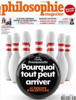 Philosophie magazine N° 108 - Avril 2017