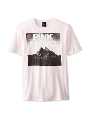 44% OFF Junk Food Men's Pink Floyd Rocks T-Shirt (Barely Pink)