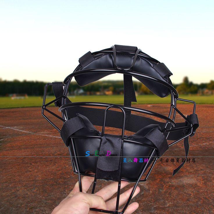 High-Quality Catcher Softball/Baseball face mask protection baseball helmet adult Baseball catcher helmet head protector