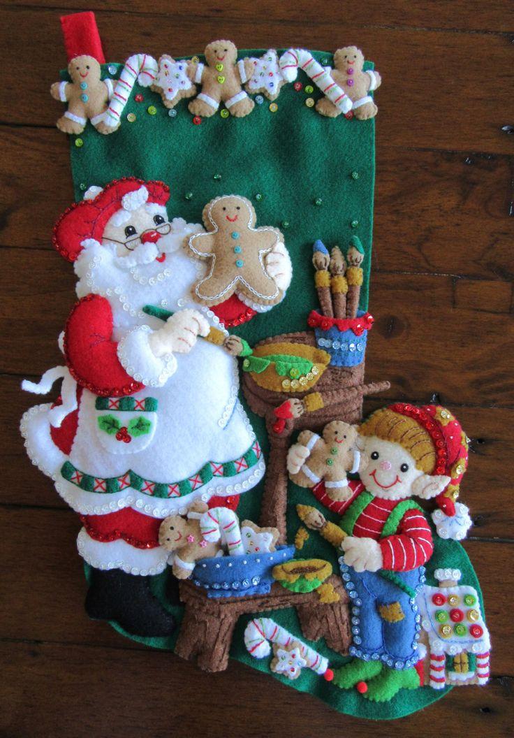 Galletas de Navidad Bucilla 18 terminado por MissingSockStitchery
