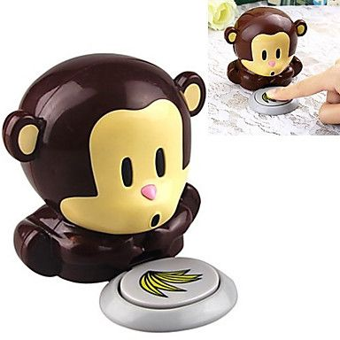 Monkey Style Wind Automatic Pressure Activates Nail Dryer(Powered by 2 AAA Battery) - CAD $ 8.21