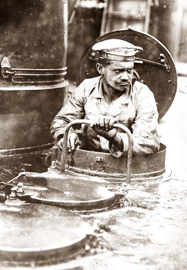 WWI. On a German U Boat