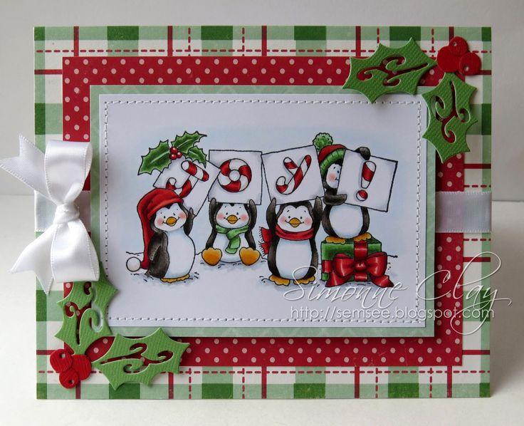 Whimsy Stamps Penguin Joy에 대한 이미지 검색결과