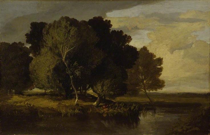 1830s  Alder Carr, Norwich    oil on panel