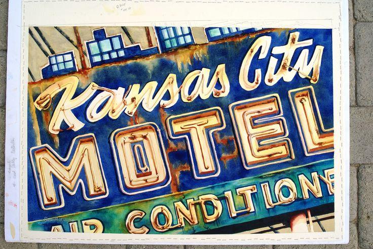 DSC00809_Kansas City Motel Watercolor