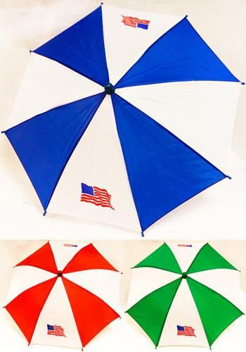 Wholesale Umbrella Hat w/American Flag Detail (Case of 60)