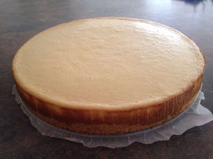 simple plain cheesecake!