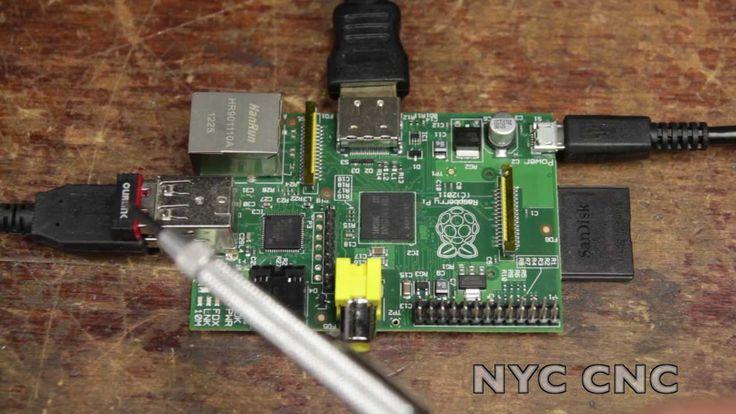 "Wifi Wireless Internet on Raspberry Pi!  ""How To"" Tutorial from NYC CNC"