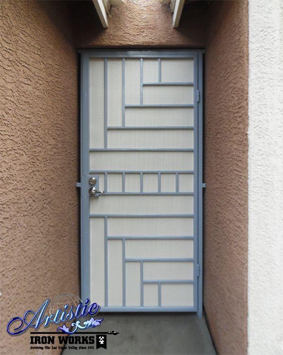 Viva - Wrought Iron Security Screen Door - Model: SD0274