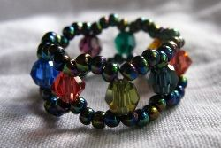 How to Make Beaded Rings Tutorials