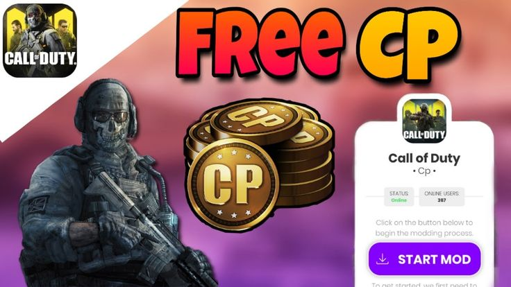 COD Mobile Hack in 2020 Call of duty, Game cheats, Point