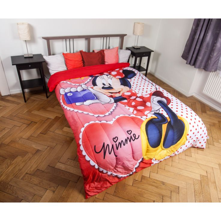 MINNIE EGÉR GYEREK ágytakaró 180x260 cm, Díszpárna.com Webáruház