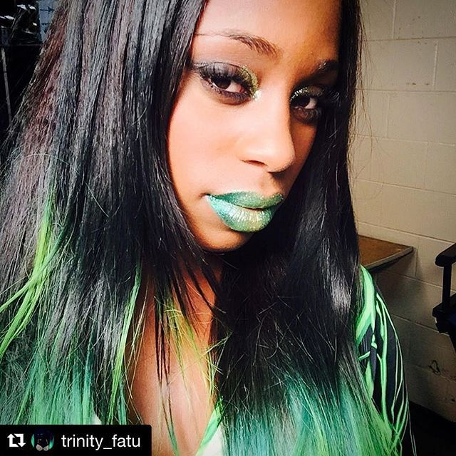 @trinity_fatu was feeling the GLOW and the GREEN on @Instagram this week!