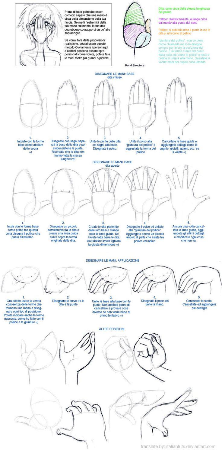 Drawing Hands Tutorial -ITA- by ItalianTuts.deviantart.com on @DeviantArt