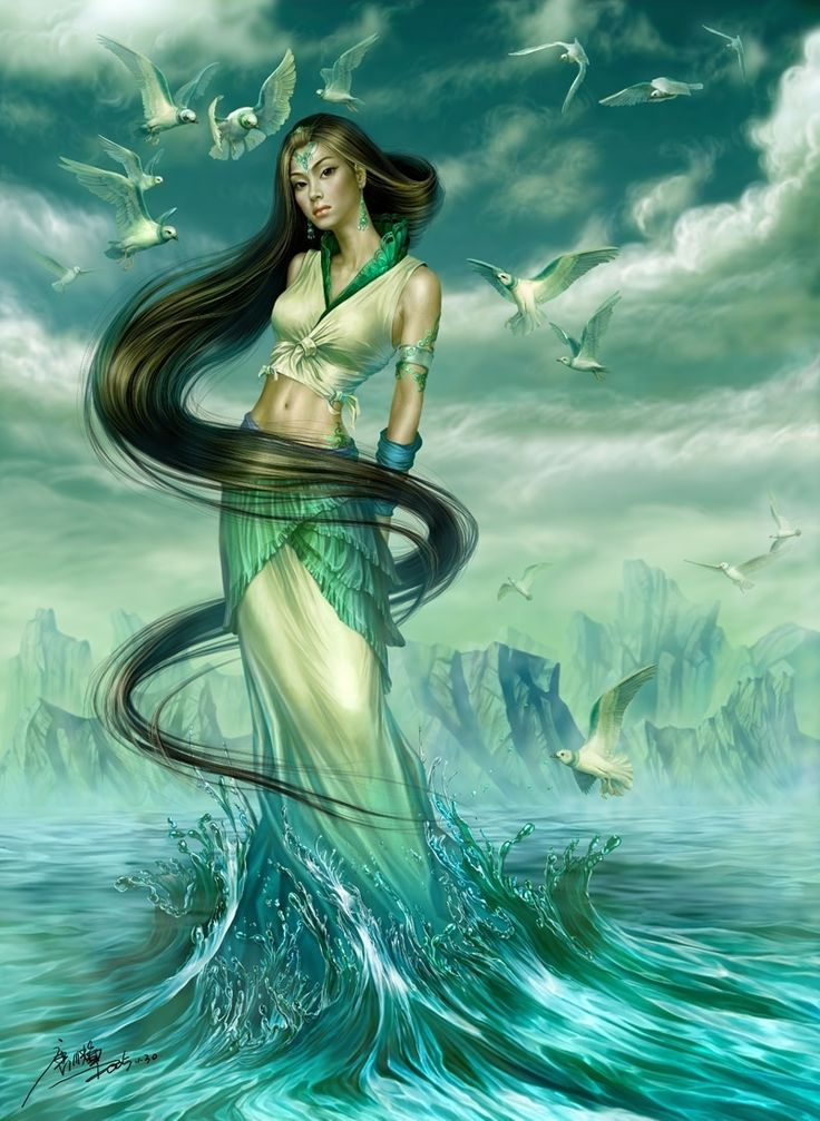 Goddess of the River Luo