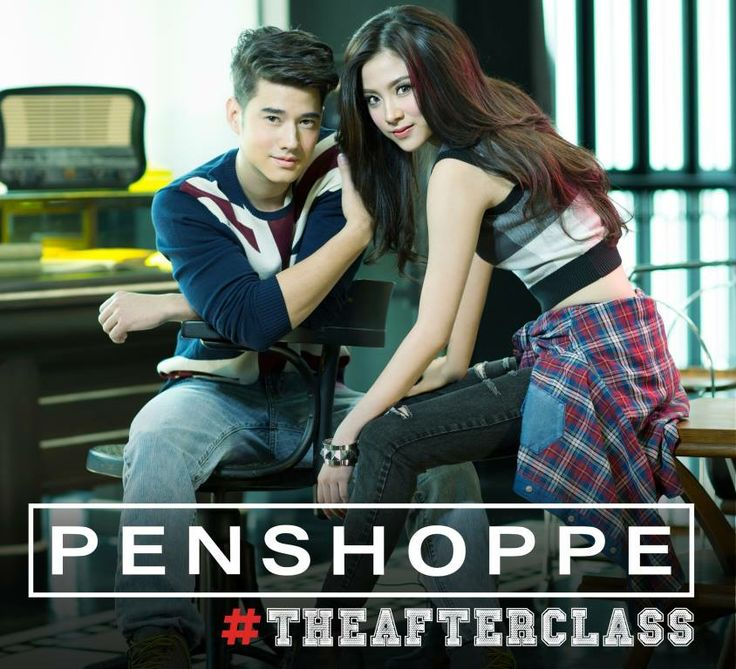 Get schooled in the art of cool with Mario Maurer  Baifern Pimchanok.. #Penshoppe #TheAfterClass —   Penshoppe is located at the 3rd level of SM City Manila!