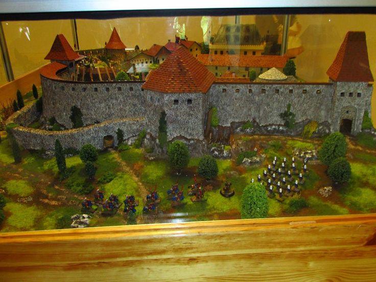 Egri csata terepasztal - Gárdonyi Géza Emlékház Fotó: Czimbalmos Szilvia