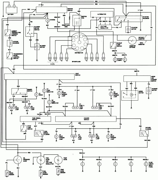 Engine Wiring Diagram 1979 Jeep Cj5 And Repair Guides Electrica