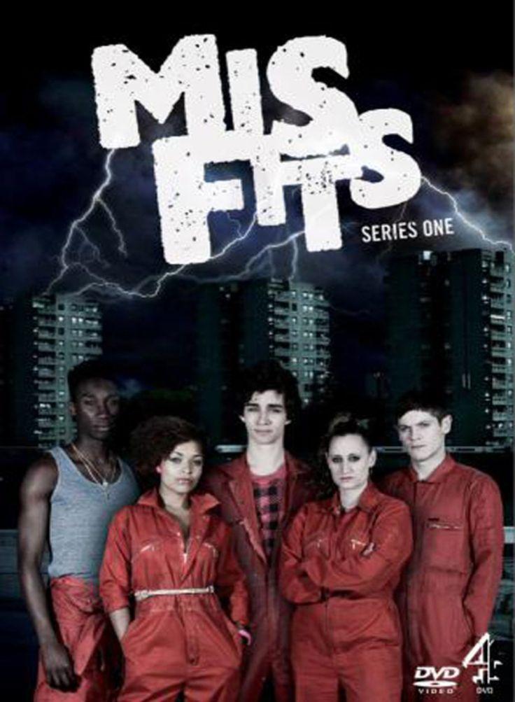 Resultado de imagem para Misfits serie posters