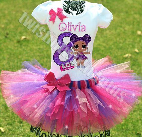LOL Überraschungs-Geburtstags-Outfit | LOL Überraschungspuppen Geburtstag Tutu Outfit | LOL S …   – avea