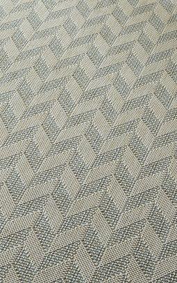 Chevron Switch Silver (0.8 X 2.2 m): Water-resistant, durable poly-propylene woven flatweave (0.8 x 2.2m). A subtle t...