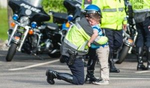 Why a Little Boy Ran to His Father Outside a Funeral Home, Hugged Him and Begged, 'Daddy, Please Don't be a Police Officer Anymore'
