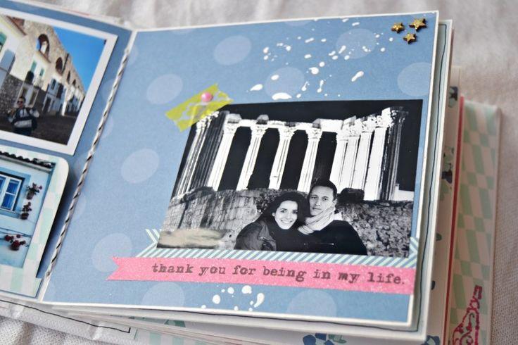 Mini Album Scrapbooking Portugal Trip By Andrea   Scrapbookpasion