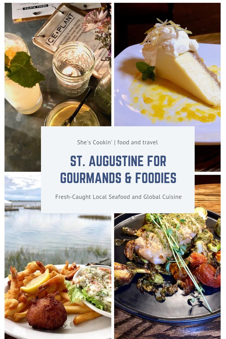St. Augustine: Florida's Hot Spot for Gourmands and Foodies