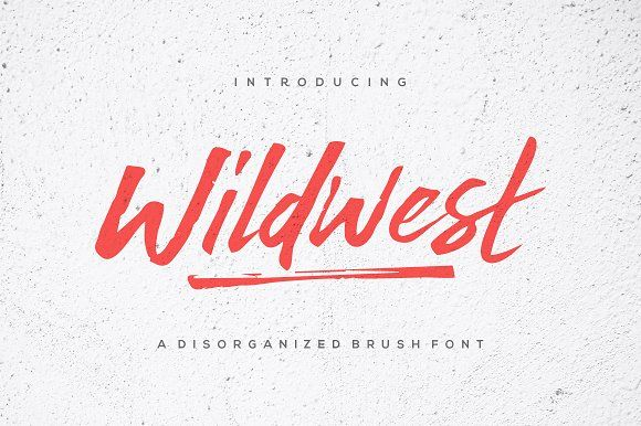 Wildwest by trustha on @creativemarket