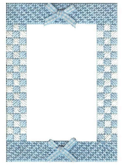 Needlepoint Kit Stitch a picture frame for by pepitaneedlepoint