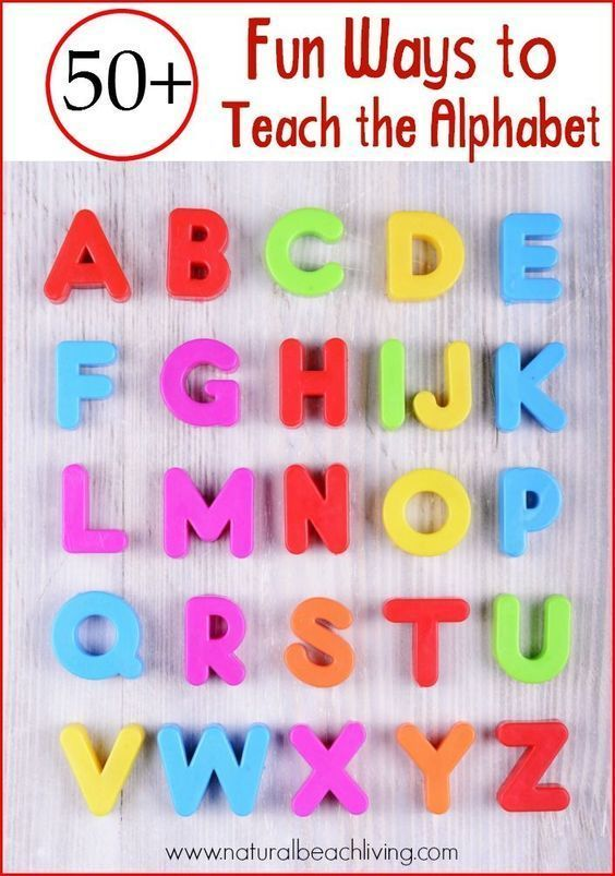 How to teach the alphabet: 50+ Fun Ways to Teach the Alphabet with Games, Hands on learning, books, crafts, Sensory Play, Free Printables, Tips and ideas on How to Teach the Alphabet