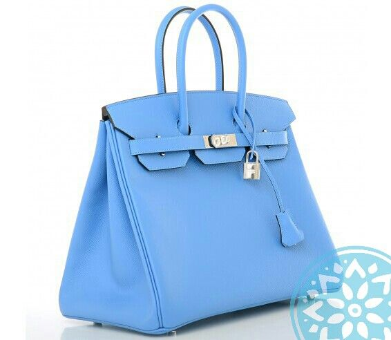 #lightblue #birkin silver hardware #capriluxe #luxury #luxe #hermes