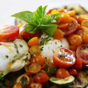 Grilled Italian Garden Salad Recipe - Kin Community