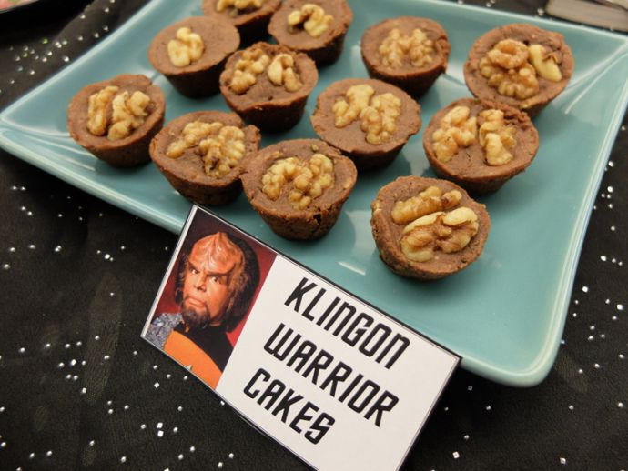 Gene Roddenberry's birthday / Star Trek party: Walnuts will always remind me of Klingon foreheads.