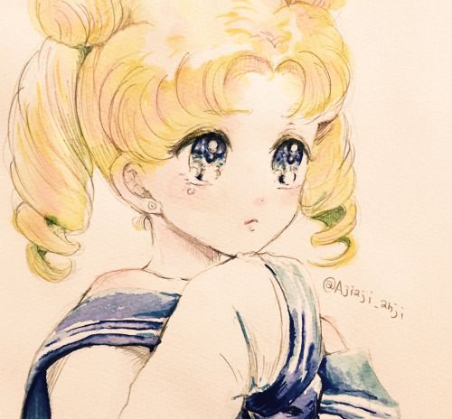 moonlightsdreaming: Sailor Moon // by あんじ