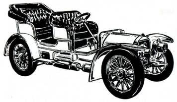 Старинные автомобили 1885-1940. Малая энциклопедия