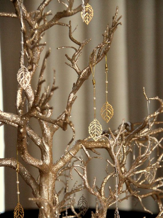 Fall/Autumn Wedding Favor, Wishing Tree, Fall Leaves, Wedding Wish Tree on Etsy, $230.00