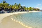 The beach at the Royal Palm is a big hit with French holidaymakers