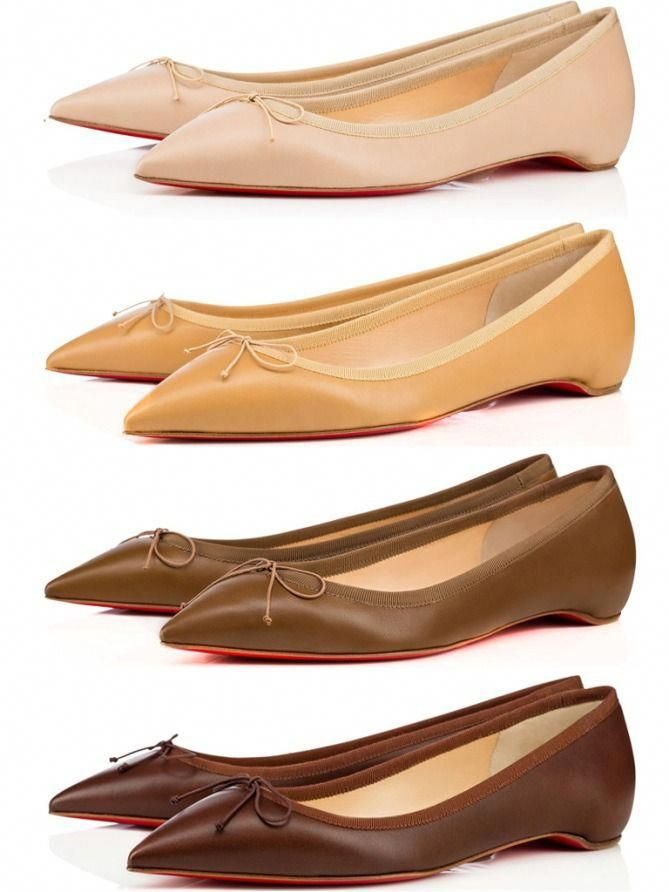 ff02fd9dd These Brands Have Nude Shades for Every Skin Tone - Christian Louboutin  flats #ChristianLouboutin