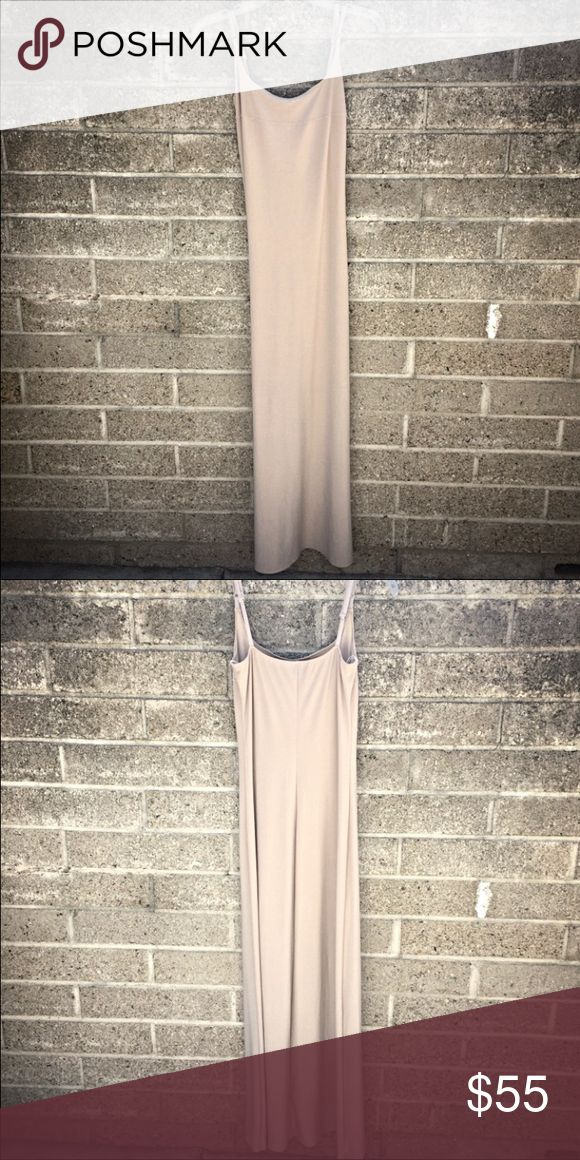 Nude Long Dress Nude, Newport dress, has only been worn once, & is in great condition!! Size-2 Dresses Maxi